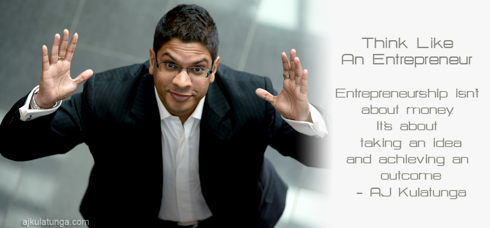 AJ Kulatunga Business Entrepreneurship Speaker